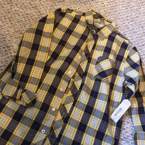 Brand new plaid shirt